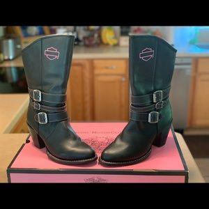 Harley-Davidson Pink Label Leather Boots